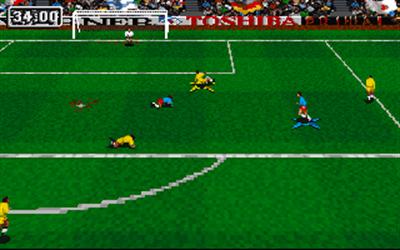 Striker '95 - Screenshot - Gameplay