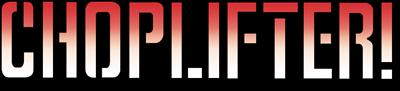 Choplifter - Clear Logo
