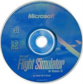 Microsoft Flight Simulator for Windows 95 - Disc