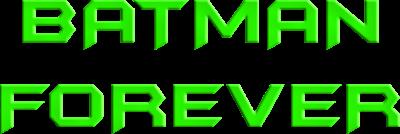 Batman Forever - Clear Logo