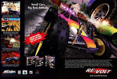 Re-Volt - Advertisement Flyer - Front