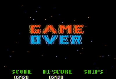 Alien Ambush - Screenshot - Game Over