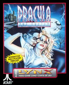Dracula: The Undead - Box - Front