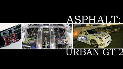 Asphalt: Urban GT 2 - Fanart - Background