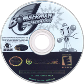Bomberman Generation - Disc