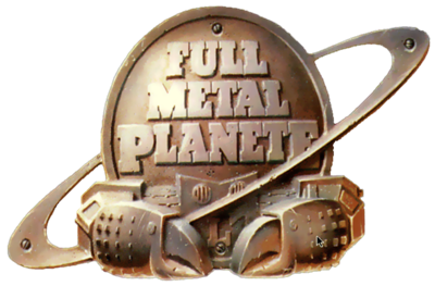 Full Metal Planete - Clear Logo