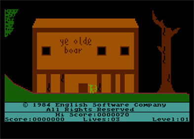 The Adventures of Robin Hood - Screenshot - Game Title