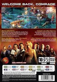 Command & Conquer: Red Alert 3: Uprising - Box - Back