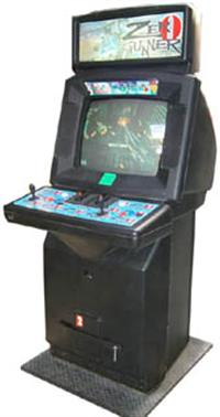 Zero Gunner - Arcade - Cabinet