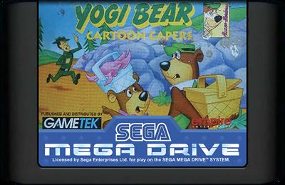 Yogi Bear: Cartoon Capers - Cart - Front