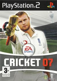 Cricket 07 - Box - Front