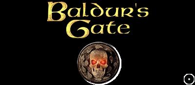 Baldur's Gate - Clear Logo