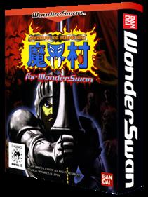 Makaimura for WonderSwan - Box - 3D
