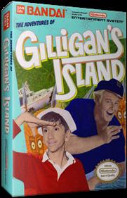 The Adventures of Gilligan's Island - Box - 3D