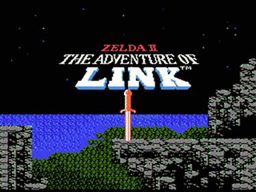 Zelda II: The Adventure of Link - Screenshot - Game Title