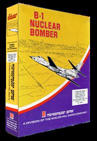 B-1 Nuclear Bomber - Box - 3D