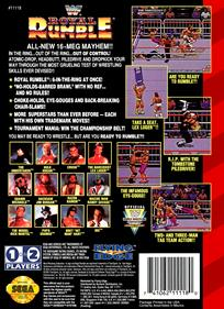 WWF Royal Rumble - Box - Back