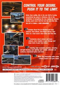 Ridge Racer V - Box - Back
