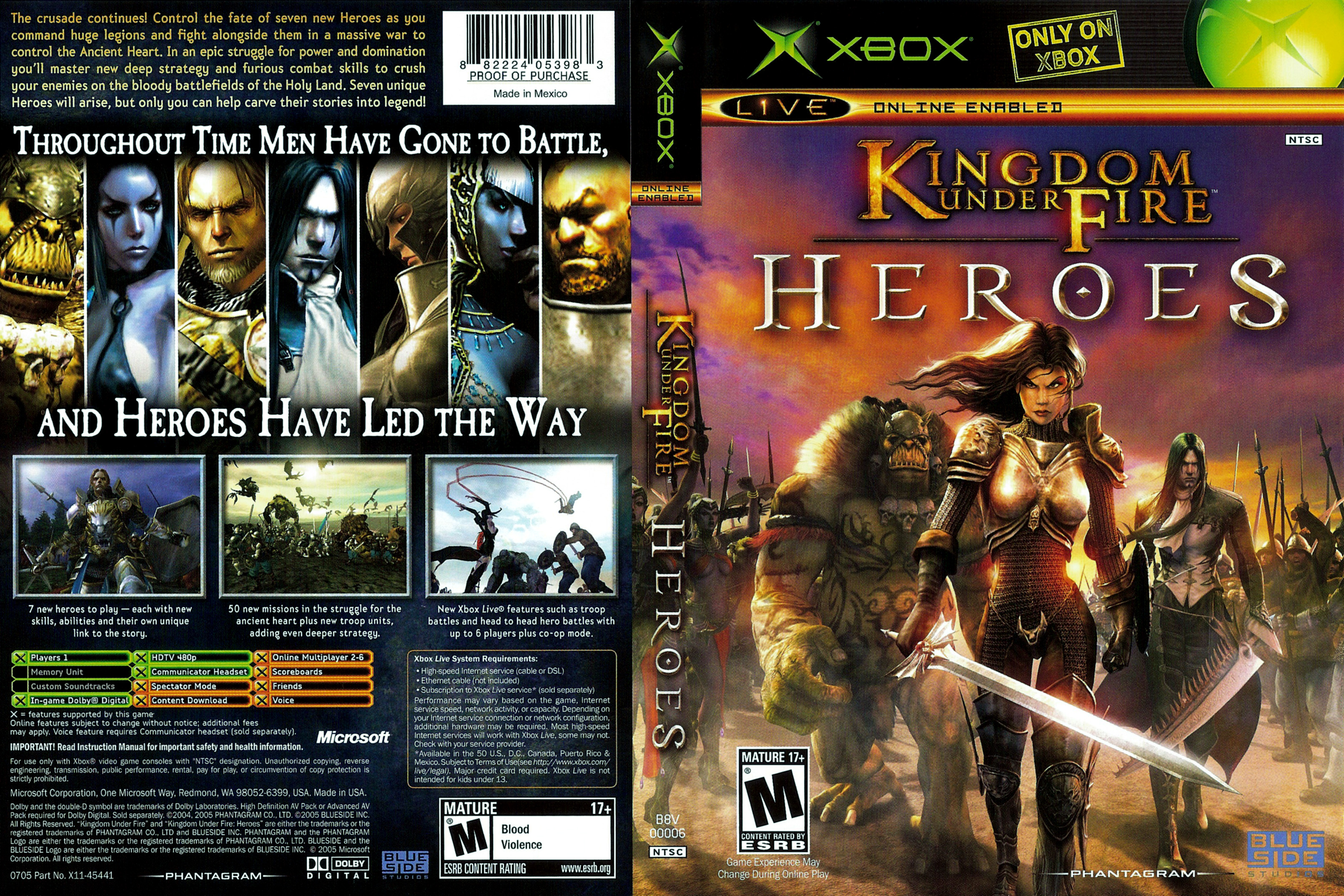 Kingdom Under Fire Heroes - Xbox
