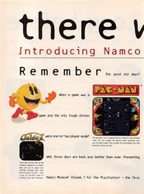 Namco Museum Vol. 1 - Advertisement Flyer - Front