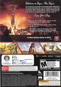 Fallout: New Vegas - Box - Back