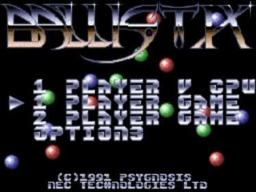 Ballistix - Screenshot - Game Title