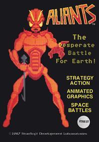 Aliants: The Desperate Battle for Earth!