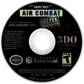 Army Men: Air Combat: The Elite Missions - Disc