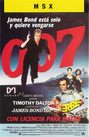 007: Licence to Kill - Box - Front