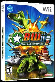 Battalion Wars 2 - Box - 3D