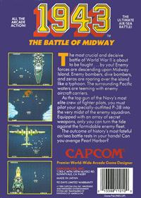 1943: The Battle of Midway - Box - Back
