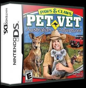 Paws & Claws: Pet Vet: Australian Adventures - Box - 3D