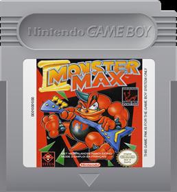 Monster Max - Fanart - Cart - Front