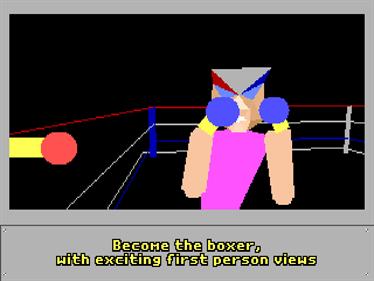 4-D Boxing - Screenshot - Gameplay