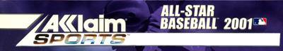 All-Star Baseball 2001 - Banner