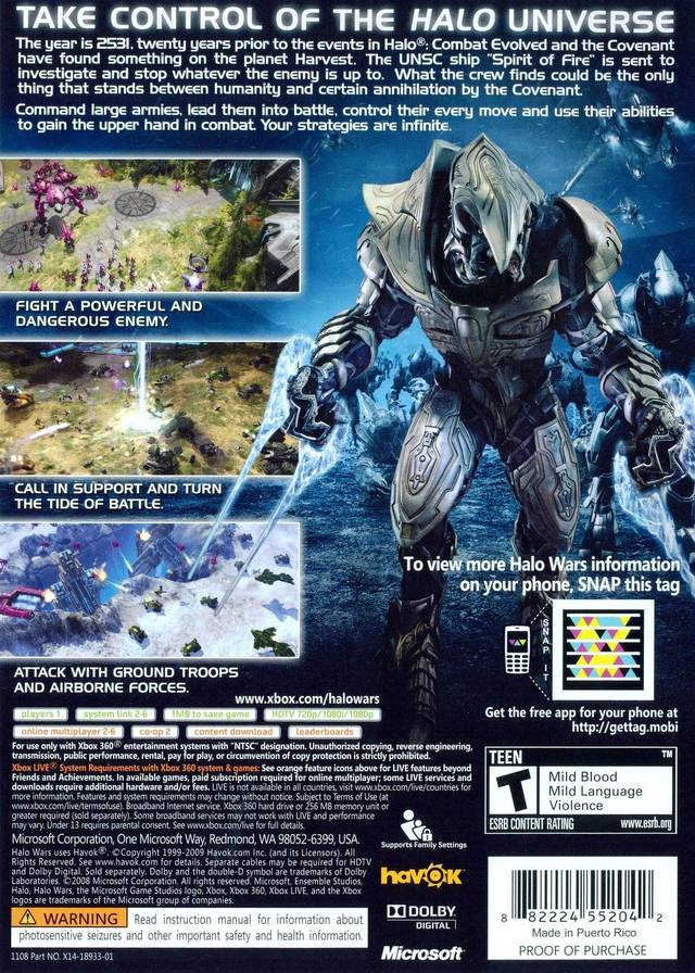 Halo Wars: Definitive Edition Details - LaunchBox Games Database