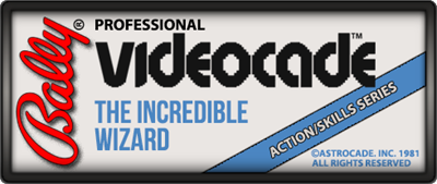 The Incredible Wizard - Clear Logo