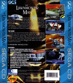 The Lawnmower Man - Box - Back - Reconstructed