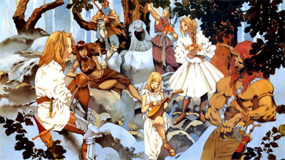 Mystic Ark - Fanart - Background