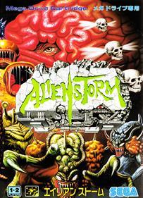 Alien Storm - Box - Front