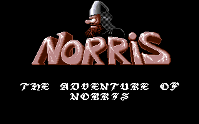 The Adventure of Norris - Screenshot - Game Title