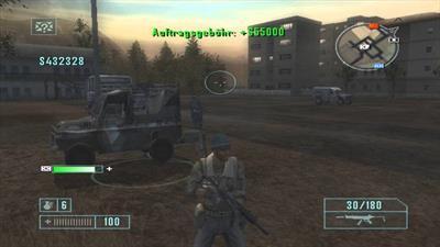 Mercenaries: Playground of Destruction - Screenshot - Gameplay