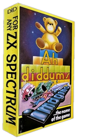 Ah Diddums - Box - 3D