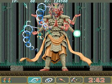 Ninja Spirit - Screenshot - Gameplay