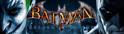 Batman: Arkham Asylum - Arcade - Marquee