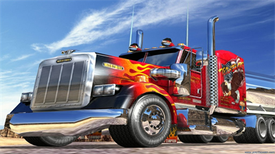 18 Wheeler: American Pro Trucker - Fanart - Background
