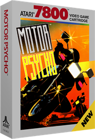 Motor Psycho - Box - 3D