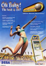 Beach Spikers - Advertisement Flyer - Front