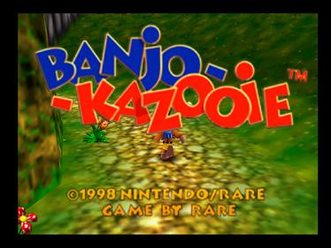 Banjo-Kazooie - Screenshot - Game Title