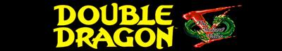 Double Dragon V: The Shadow Falls - Banner